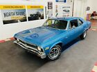 1971 Chevrolet Nova - 350 ENGINE - 6 SPEED MANUAL TRANS - SEE VIDEO Blue Chevrolet Nova with 80,634 Miles available now!