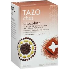 Tazo Chai Chocolate Black Tea 20 Count (Filterbags Per Box)