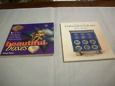 BoxesEmbellished:(2) Books;1-Box Make,Decorate&Embellish,1 -Beginner'sEmb.Box(339