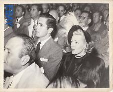 Tyrone Power and Lana Turner candid VINTAGE Photo