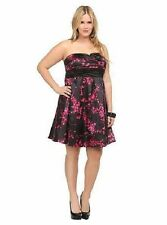 Torrid Plus Size 22 Floral Print Dress
