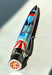 Retro 51 Tornado TOKYO SKYLINE  - Ltd Ed of 707 - Rollerball / Pen