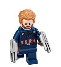 Lego Captain America Mini-Figure from set 76101 (Brand New)
