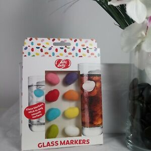 Jelly Belly Drink Markers NEW 8 Count Assorted Colors Novelty