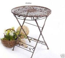 Table Folding Table from Metal 1850 Wrought Iron Garden Table Metal Table Iron