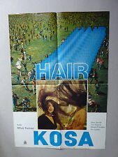HAIR / M. FORMAN / J. SAVAGE (1979/USA) ORIGINAL YUGOSLAVIAN MOVIE POSTER