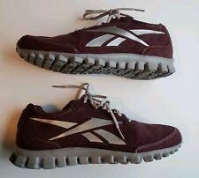 Reebok RealFlex Men s size 8.5 Burgundy Gray running cross fit J89303 shoes 8896301b0