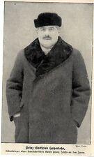 Prinz Gottfried Hohenlohe Ueberbringer eines Handschreibens Kaiser Franz...1913