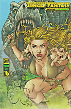 Jungle Fantasy Annual Ivory Variant Remarqued by Zanier Boundless Comics Sketch