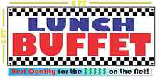 LUNCH BUFFET All Weather Banner Sign