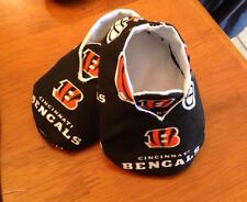 Cincinnati Bengals Baby Booties Boy Or Girl Unisex Free Shipping