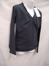 BNWT Girls Sz 9 Smart Charcoal Long Sleeve Layer Top