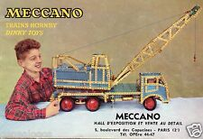 ORIGINAL CATALOGUE 1956 MECCANO TRAINS HORNBY DINKY TOYS 1/43 26 PAGES + TARIF a