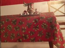 St Nicholas Square Christmas Tablecloths New In Package  70 in round