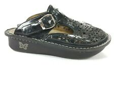 Womens ALEGRIA ALG-631 Mary Janes Geometric Mules Clogs Shoes SIZE 37 US 6.5
