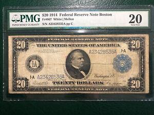 Fr-967 $20.00 1914 Series A23428535A  PMG 20