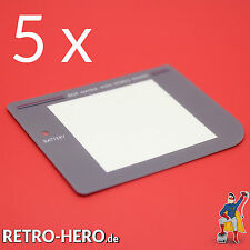 5 x Game Boy Classic Display Scheibe Grau LCD Sicht Front Linse Screen Nintendo