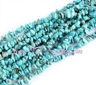 WHOLESALE 6-8MM FREEFORM CHIPS BLUE TURQUOISE SPACER GEMSTONE BEADS STRAND 16""