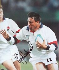 Rory Underwood – 1996 England Rugby Union dédicacé Photographie en couleur