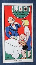 Magic Card Trick   Superb 1930's Vintage Card