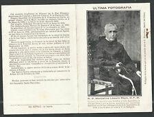 Holy card reliquia del Padre Marcelino Martir gce santino image pieuse relics