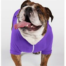 5df1ce7654fa Large Purple Fleece Doggie Hoodie - Comfy and Warm for Dogs - Free Shipping!