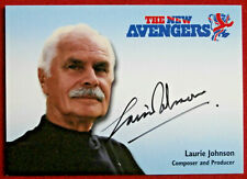 THE NEW AVENGERS - LAURIE JOHNSON - Personally Signed Autograph Card - 2006