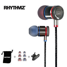 RHYTHMZ ® HD9-Auricolari in ear iPhone Samsung Apple (Titanio)