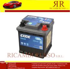Batteria Avviamento Auto Exide Excell EB440  44AH Spunto 400EN Polo(+) Destra