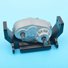 D90 1/10 Rock-Crawler Case with Mount Holder Scx10 Transfer case Upgrade Parts