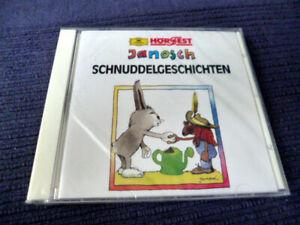 CD Janosch 4 Schnuddelgeschichten Hörspiele Damme & Egenolf Deutsche Grammophon