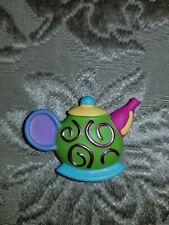 Quacker Factory Tea Pot and 2 Tea Cups Button Covers