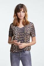 Damen-Shirt, animal, Marke: Oui, Größe 38, 40