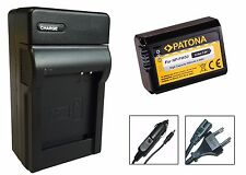 Patona-Akku + Ladegerät für Sony Alpha 33 (SLT-A33), 35 (SLT-A35) - NP-FW50