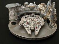 Millennium Falcon Statue Disneyland Star Wars Galaxy's Edge