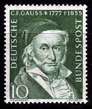Bund 204 **, 100. Todestag Gauss