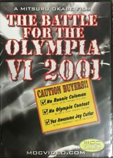 BATTLE FOR THE OLYMPIA 2001 DVD Mr Olympia Jay Cuter Craig Titus Kevin Levrone