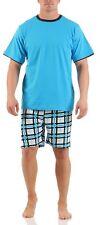 hombre Short corto de moda Pijama 100% Algodón Talla 48 hasta 56 M-XXL