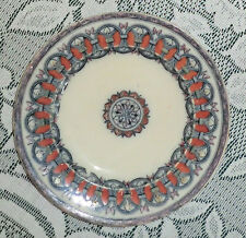 "Ceramic Side Plate 6 3/4""Dia. Marked ""Thebes"" WB. Pattern 10392"