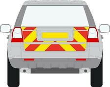 Landrover Freelander 2 06 - 2014 Reflective /Chapter 8 Rear chevron Graphic kit