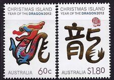 2012 Christmas Island - Year of the Dragon (2) MUH