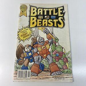 Battle Beasts 1 First Appearance Hasbro Blackthorne 1st Low Print Run DA92984