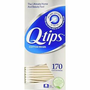 Q tips Cotton Swabs 170 Ct.