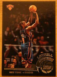 Latrell Sprewell 2002/03 Topps rare /500 #151