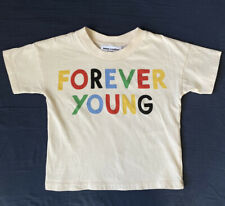 MINI RODINI Forever Young Tee Shirt T 80 85 Size 2 3