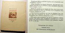 GASTRONOMIE/LA CUISINE DE MADAME/M.C.FINEBOUCHE/GALLIMARD/1932/GRD PAPIER/RARE