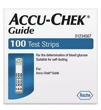 Accu-Chek Guide Glucose Test Strips 100 Roche