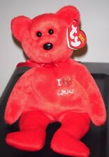 Ty Beanie Baby ~ I LOVE CANADA the Bear ~ Canada Exclusive ~ MINT with MINT TAGS
