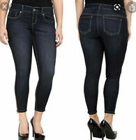 Torrid Stiletto Ankle Zip Ankle Jeans Size 14S