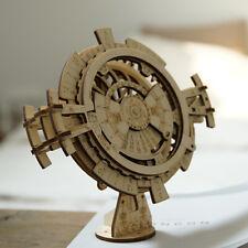 ROKR Perpetual Calendar Wooden Block Building Kits Handcrafts Gears Construction